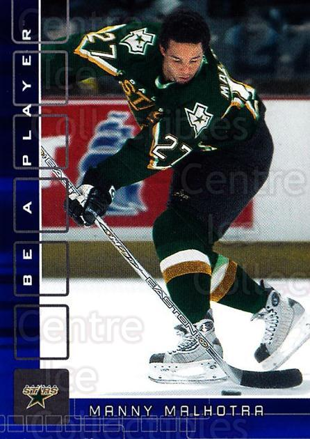 2001-02 BAP Memorabilia Sapphire #473 Manny Malhotra<br/>1 In Stock - $5.00 each - <a href=https://centericecollectibles.foxycart.com/cart?name=2001-02%20BAP%20Memorabilia%20Sapphire%20%23473%20Manny%20Malhotra...&quantity_max=1&price=$5.00&code=364146 class=foxycart> Buy it now! </a>
