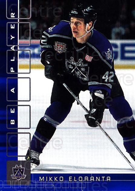 2001-02 BAP Memorabilia Sapphire #478 Mikko Eloranta<br/>1 In Stock - $5.00 each - <a href=https://centericecollectibles.foxycart.com/cart?name=2001-02%20BAP%20Memorabilia%20Sapphire%20%23478%20Mikko%20Eloranta...&quantity_max=1&price=$5.00&code=364151 class=foxycart> Buy it now! </a>
