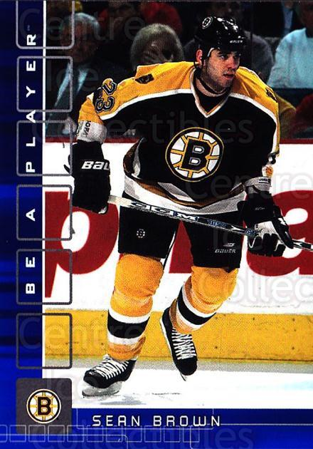 2001-02 BAP Memorabilia Sapphire #486 Sean Brown<br/>1 In Stock - $5.00 each - <a href=https://centericecollectibles.foxycart.com/cart?name=2001-02%20BAP%20Memorabilia%20Sapphire%20%23486%20Sean%20Brown...&quantity_max=1&price=$5.00&code=364159 class=foxycart> Buy it now! </a>