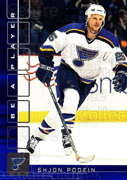 2001-02 BAP Memorabilia Sapphire #499 Shjon Podein<br/>2 In Stock - $5.00 each - <a href=https://centericecollectibles.foxycart.com/cart?name=2001-02%20BAP%20Memorabilia%20Sapphire%20%23499%20Shjon%20Podein...&quantity_max=2&price=$5.00&code=364173 class=foxycart> Buy it now! </a>