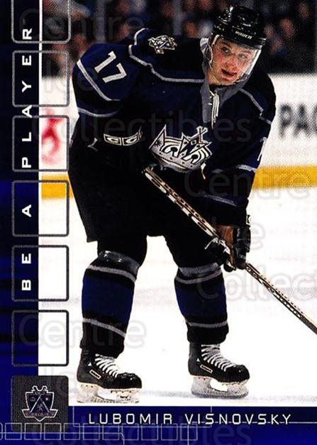 2001-02 BAP Memorabilia Sapphire #51 Lubomir Visnovsky<br/>2 In Stock - $5.00 each - <a href=https://centericecollectibles.foxycart.com/cart?name=2001-02%20BAP%20Memorabilia%20Sapphire%20%2351%20Lubomir%20Visnovs...&quantity_max=2&price=$5.00&code=364177 class=foxycart> Buy it now! </a>