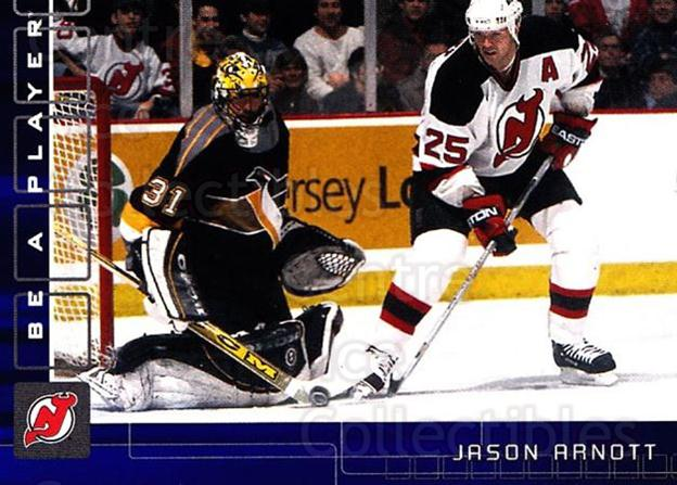 2001-02 BAP Memorabilia Sapphire #53 Jason Arnott<br/>2 In Stock - $5.00 each - <a href=https://centericecollectibles.foxycart.com/cart?name=2001-02%20BAP%20Memorabilia%20Sapphire%20%2353%20Jason%20Arnott...&quantity_max=2&price=$5.00&code=364179 class=foxycart> Buy it now! </a>