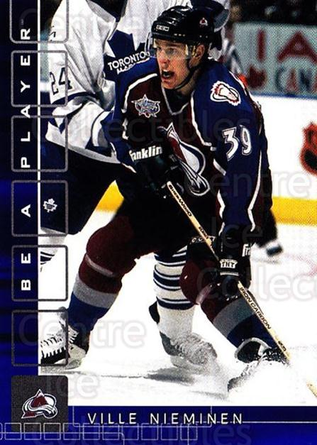 2001-02 BAP Memorabilia Sapphire #56 Ville Nieminen<br/>1 In Stock - $5.00 each - <a href=https://centericecollectibles.foxycart.com/cart?name=2001-02%20BAP%20Memorabilia%20Sapphire%20%2356%20Ville%20Nieminen...&quantity_max=1&price=$5.00&code=364182 class=foxycart> Buy it now! </a>