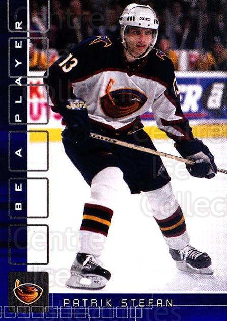 2001-02 BAP Memorabilia Sapphire #69 Patrik Stefan<br/>1 In Stock - $5.00 each - <a href=https://centericecollectibles.foxycart.com/cart?name=2001-02%20BAP%20Memorabilia%20Sapphire%20%2369%20Patrik%20Stefan...&quantity_max=1&price=$5.00&code=364196 class=foxycart> Buy it now! </a>