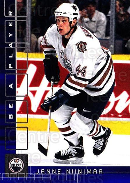 2001-02 BAP Memorabilia Sapphire #76 Janne Niinimaa<br/>1 In Stock - $5.00 each - <a href=https://centericecollectibles.foxycart.com/cart?name=2001-02%20BAP%20Memorabilia%20Sapphire%20%2376%20Janne%20Niinimaa...&quantity_max=1&price=$5.00&code=364204 class=foxycart> Buy it now! </a>