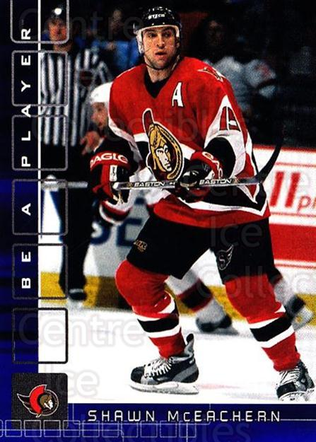 2001-02 BAP Memorabilia Sapphire #81 Shawn McEachern<br/>2 In Stock - $5.00 each - <a href=https://centericecollectibles.foxycart.com/cart?name=2001-02%20BAP%20Memorabilia%20Sapphire%20%2381%20Shawn%20McEachern...&quantity_max=2&price=$5.00&code=364210 class=foxycart> Buy it now! </a>