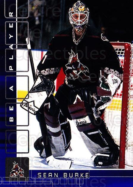 2001-02 BAP Memorabilia Sapphire #83 Sean Burke<br/>1 In Stock - $5.00 each - <a href=https://centericecollectibles.foxycart.com/cart?name=2001-02%20BAP%20Memorabilia%20Sapphire%20%2383%20Sean%20Burke...&quantity_max=1&price=$5.00&code=364212 class=foxycart> Buy it now! </a>