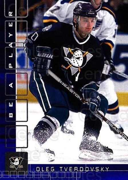2001-02 BAP Memorabilia Sapphire #87 Oleg Tverdovsky<br/>5 In Stock - $5.00 each - <a href=https://centericecollectibles.foxycart.com/cart?name=2001-02%20BAP%20Memorabilia%20Sapphire%20%2387%20Oleg%20Tverdovsky...&quantity_max=5&price=$5.00&code=364216 class=foxycart> Buy it now! </a>
