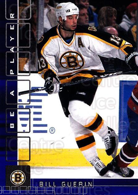 2001-02 BAP Memorabilia Sapphire #88 Bill Guerin<br/>3 In Stock - $5.00 each - <a href=https://centericecollectibles.foxycart.com/cart?name=2001-02%20BAP%20Memorabilia%20Sapphire%20%2388%20Bill%20Guerin...&quantity_max=3&price=$5.00&code=364217 class=foxycart> Buy it now! </a>