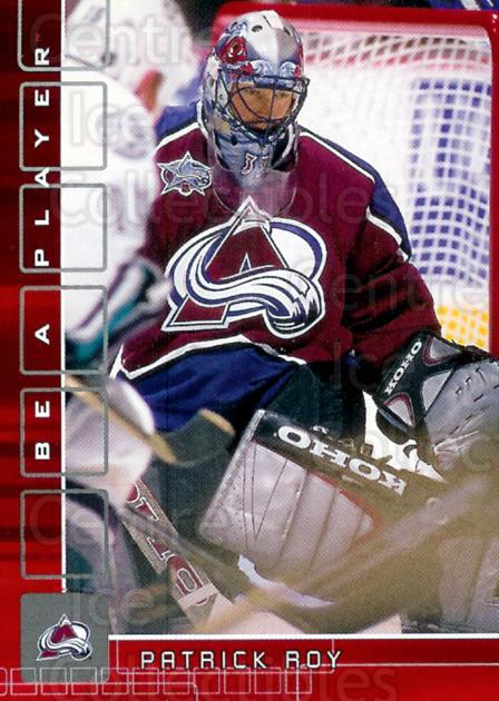 2001-02 BAP Memorabilia Ruby #133 Patrick Roy<br/>1 In Stock - $25.00 each - <a href=https://centericecollectibles.foxycart.com/cart?name=2001-02%20BAP%20Memorabilia%20Ruby%20%23133%20Patrick%20Roy...&price=$25.00&code=364234 class=foxycart> Buy it now! </a>