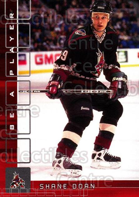2001-02 BAP Memorabilia Ruby #293 Shane Doan<br/>1 In Stock - $3.00 each - <a href=https://centericecollectibles.foxycart.com/cart?name=2001-02%20BAP%20Memorabilia%20Ruby%20%23293%20Shane%20Doan...&quantity_max=1&price=$3.00&code=364475 class=foxycart> Buy it now! </a>
