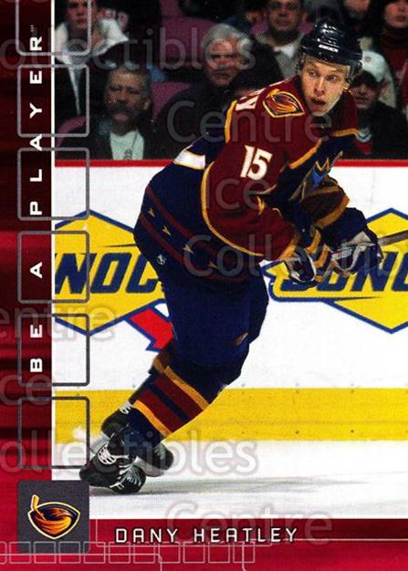 2001-02 BAP Memorabilia Ruby #385 Dany Heatley<br/>2 In Stock - $3.00 each - <a href=https://centericecollectibles.foxycart.com/cart?name=2001-02%20BAP%20Memorabilia%20Ruby%20%23385%20Dany%20Heatley...&quantity_max=2&price=$3.00&code=364560 class=foxycart> Buy it now! </a>