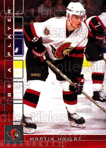2001-02 BAP Memorabilia Ruby #41 Martin Havlat<br/>1 In Stock - $3.00 each - <a href=https://centericecollectibles.foxycart.com/cart?name=2001-02%20BAP%20Memorabilia%20Ruby%20%2341%20Martin%20Havlat...&quantity_max=1&price=$3.00&code=364583 class=foxycart> Buy it now! </a>