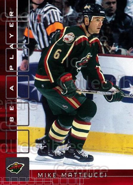2001-02 BAP Memorabilia Ruby #441 Mike Matteucci<br/>2 In Stock - $3.00 each - <a href=https://centericecollectibles.foxycart.com/cart?name=2001-02%20BAP%20Memorabilia%20Ruby%20%23441%20Mike%20Matteucci...&quantity_max=2&price=$3.00&code=364615 class=foxycart> Buy it now! </a>