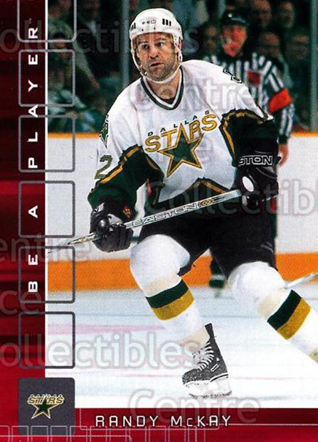 2001-02 BAP Memorabilia Ruby #482 Randy McKay<br/>2 In Stock - $3.00 each - <a href=https://centericecollectibles.foxycart.com/cart?name=2001-02%20BAP%20Memorabilia%20Ruby%20%23482%20Randy%20McKay...&quantity_max=2&price=$3.00&code=364656 class=foxycart> Buy it now! </a>