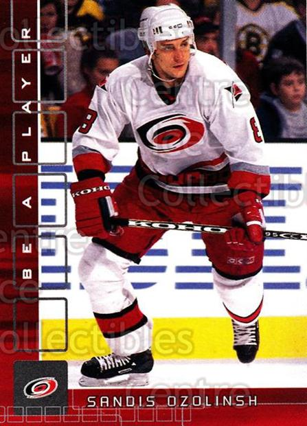 2001-02 BAP Memorabilia Ruby #72 Sandis Ozolinsh<br/>3 In Stock - $3.00 each - <a href=https://centericecollectibles.foxycart.com/cart?name=2001-02%20BAP%20Memorabilia%20Ruby%20%2372%20Sandis%20Ozolinsh...&quantity_max=3&price=$3.00&code=364700 class=foxycart> Buy it now! </a>