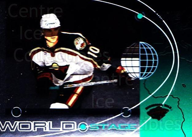 2002-03 Stadium Club World Stage #13 Marian Gaborik<br/>1 In Stock - $3.00 each - <a href=https://centericecollectibles.foxycart.com/cart?name=2002-03%20Stadium%20Club%20World%20Stage%20%2313%20Marian%20Gaborik...&quantity_max=1&price=$3.00&code=365380 class=foxycart> Buy it now! </a>