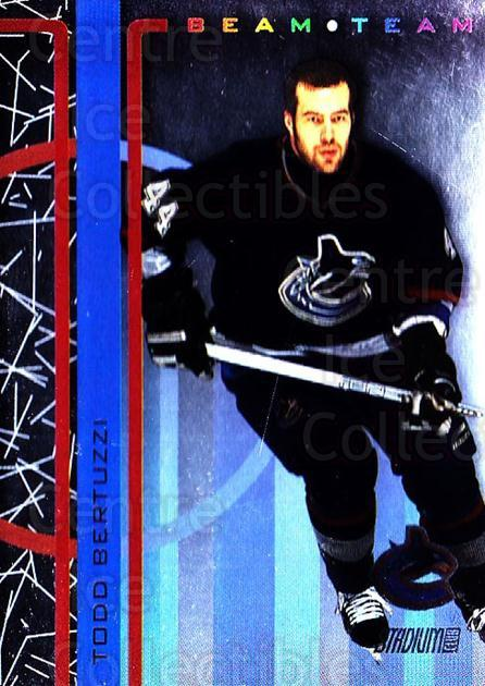 2002-03 Stadium Club Beam Team #13 Todd Bertuzzi<br/>1 In Stock - $5.00 each - <a href=https://centericecollectibles.foxycart.com/cart?name=2002-03%20Stadium%20Club%20Beam%20Team%20%2313%20Todd%20Bertuzzi...&quantity_max=1&price=$5.00&code=365394 class=foxycart> Buy it now! </a>