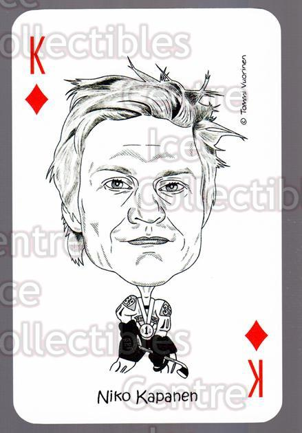 2011-12 Finnish World Champions Playing Card #39 Niko Kapanen<br/>4 In Stock - $3.00 each - <a href=https://centericecollectibles.foxycart.com/cart?name=2011-12%20Finnish%20World%20Champions%20Playing%20Card%20%2339%20Niko%20Kapanen...&quantity_max=4&price=$3.00&code=365571 class=foxycart> Buy it now! </a>