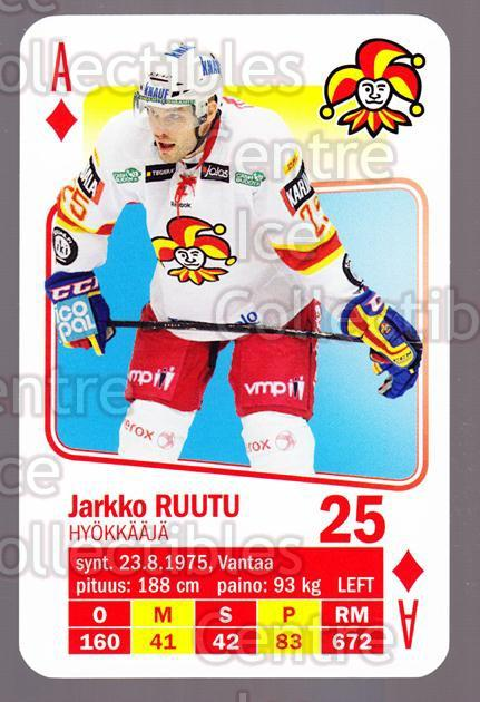 2011-12 Finnish SM LIIGA Playing Card #27 Jarkko Ruutu<br/>4 In Stock - $3.00 each - <a href=https://centericecollectibles.foxycart.com/cart?name=2011-12%20Finnish%20SM%20LIIGA%20Playing%20Card%20%2327%20Jarkko%20Ruutu...&quantity_max=4&price=$3.00&code=365616 class=foxycart> Buy it now! </a>