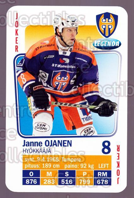 2011-12 Finnish SM LIIGA Playing Card #54 Janne Ojanen<br/>3 In Stock - $3.00 each - <a href=https://centericecollectibles.foxycart.com/cart?name=2011-12%20Finnish%20SM%20LIIGA%20Playing%20Card%20%2354%20Janne%20Ojanen...&quantity_max=3&price=$3.00&code=365643 class=foxycart> Buy it now! </a>