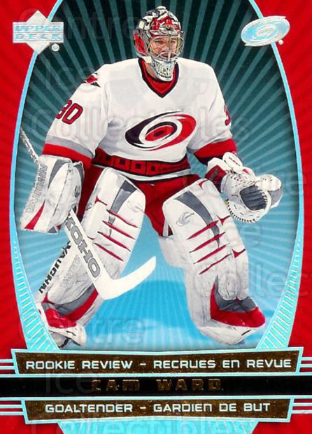 2006-07 McDonalds Upper Deck Rookie Review #15 Cam Ward<br/>2 In Stock - $2.00 each - <a href=https://centericecollectibles.foxycart.com/cart?name=2006-07%20McDonalds%20Upper%20Deck%20Rookie%20Review%20%2315%20Cam%20Ward...&price=$2.00&code=365645 class=foxycart> Buy it now! </a>