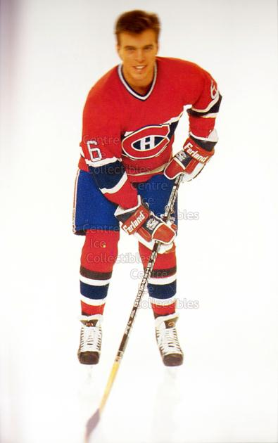 1991-92 Montreal Canadiens Postcards #8 Russ Courtnall<br/>2 In Stock - $3.00 each - <a href=https://centericecollectibles.foxycart.com/cart?name=1991-92%20Montreal%20Canadiens%20Postcards%20%238%20Russ%20Courtnall...&quantity_max=2&price=$3.00&code=365727 class=foxycart> Buy it now! </a>