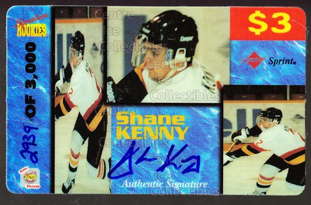 1995 Signature Rookies Auto-Phonex Phone Cards #21 Shane Kenny<br/>2 In Stock - $3.00 each - <a href=https://centericecollectibles.foxycart.com/cart?name=1995%20Signature%20Rookies%20Auto-Phonex%20Phone%20Cards%20%2321%20Shane%20Kenny...&price=$3.00&code=36601 class=foxycart> Buy it now! </a>