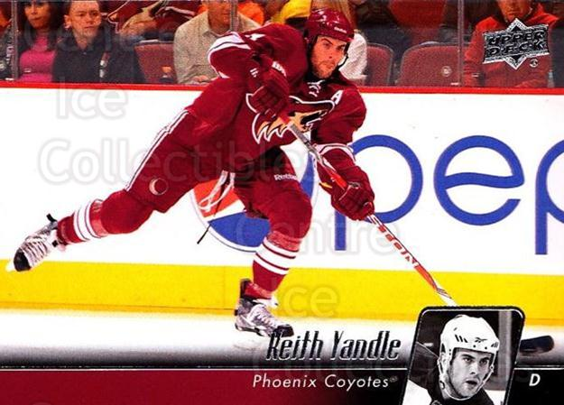 2010-11 Upper Deck #403 Keith Yandle<br/>6 In Stock - $1.00 each - <a href=https://centericecollectibles.foxycart.com/cart?name=2010-11%20Upper%20Deck%20%23403%20Keith%20Yandle...&quantity_max=6&price=$1.00&code=366042 class=foxycart> Buy it now! </a>