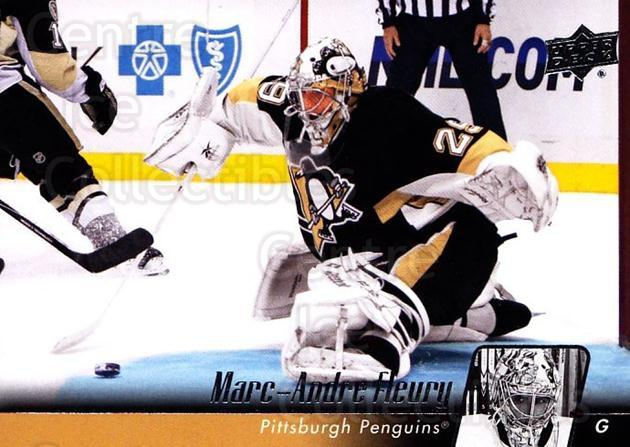 2010-11 Upper Deck #409 Marc-Andre Fleury<br/>5 In Stock - $2.00 each - <a href=https://centericecollectibles.foxycart.com/cart?name=2010-11%20Upper%20Deck%20%23409%20Marc-Andre%20Fleu...&quantity_max=5&price=$2.00&code=366048 class=foxycart> Buy it now! </a>