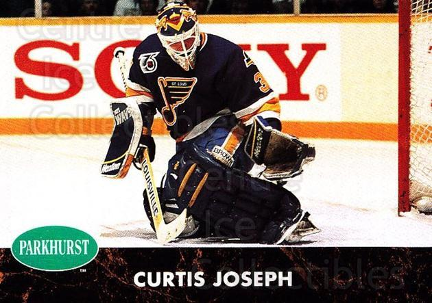 1991-92 Parkhurst #152 Curtis Joseph<br/>5 In Stock - $1.00 each - <a href=https://centericecollectibles.foxycart.com/cart?name=1991-92%20Parkhurst%20%23152%20Curtis%20Joseph...&quantity_max=5&price=$1.00&code=366 class=foxycart> Buy it now! </a>