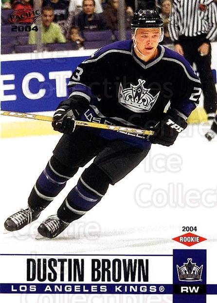 2003-04 Pacific #356 Dustin Brown<br/>1 In Stock - $5.00 each - <a href=https://centericecollectibles.foxycart.com/cart?name=2003-04%20Pacific%20%23356%20Dustin%20Brown...&quantity_max=1&price=$5.00&code=367461 class=foxycart> Buy it now! </a>