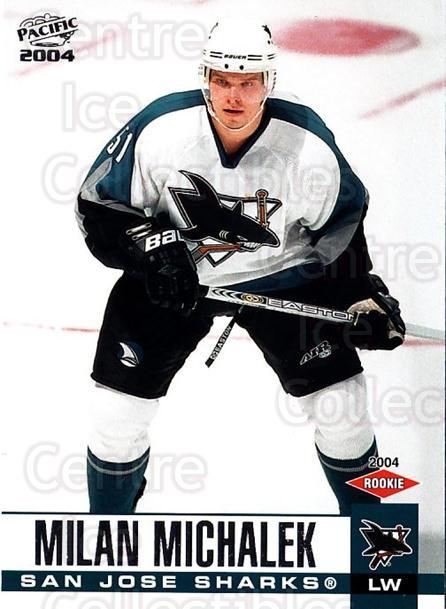 2003-04 Pacific #359 Milan Michalek<br/>1 In Stock - $5.00 each - <a href=https://centericecollectibles.foxycart.com/cart?name=2003-04%20Pacific%20%23359%20Milan%20Michalek...&quantity_max=1&price=$5.00&code=367464 class=foxycart> Buy it now! </a>