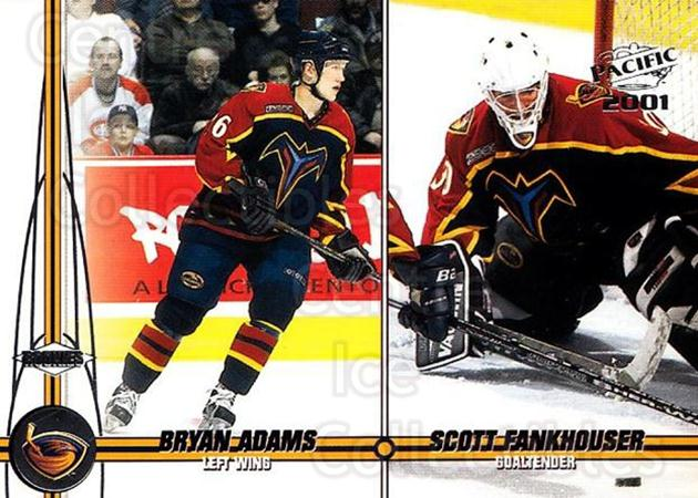 2000-01 Pacific #27 Bryan Adams, Scott Fankhouser<br/>1 In Stock - $1.00 each - <a href=https://centericecollectibles.foxycart.com/cart?name=2000-01%20Pacific%20%2327%20Bryan%20Adams,%20Sc...&quantity_max=1&price=$1.00&code=367586 class=foxycart> Buy it now! </a>