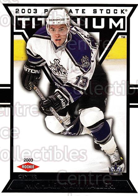2002-03 Titanium Retail #117 Mike Cammalleri<br/>3 In Stock - $3.00 each - <a href=https://centericecollectibles.foxycart.com/cart?name=2002-03%20Titanium%20Retail%20%23117%20Mike%20Cammalleri...&quantity_max=3&price=$3.00&code=367711 class=foxycart> Buy it now! </a>