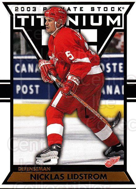 2002-03 Titanium #38 Nicklas Lidstrom<br/>2 In Stock - $1.00 each - <a href=https://centericecollectibles.foxycart.com/cart?name=2002-03%20Titanium%20%2338%20Nicklas%20Lidstro...&quantity_max=2&price=$1.00&code=367776 class=foxycart> Buy it now! </a>