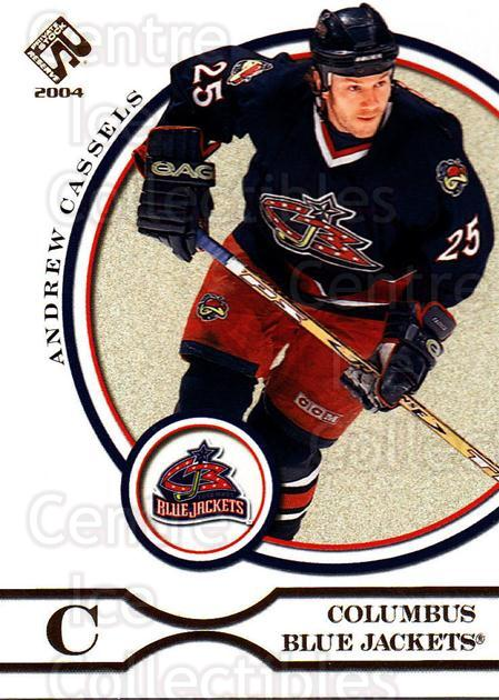 2003-04 Private Stock #26 Andrew Cassels<br/>5 In Stock - $1.00 each - <a href=https://centericecollectibles.foxycart.com/cart?name=2003-04%20Private%20Stock%20%2326%20Andrew%20Cassels...&quantity_max=5&price=$1.00&code=368016 class=foxycart> Buy it now! </a>