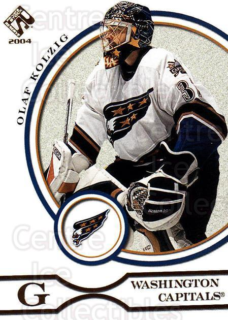 2003-04 Private Stock #100 Olaf Kolzig<br/>10 In Stock - $1.00 each - <a href=https://centericecollectibles.foxycart.com/cart?name=2003-04%20Private%20Stock%20%23100%20Olaf%20Kolzig...&quantity_max=10&price=$1.00&code=368026 class=foxycart> Buy it now! </a>
