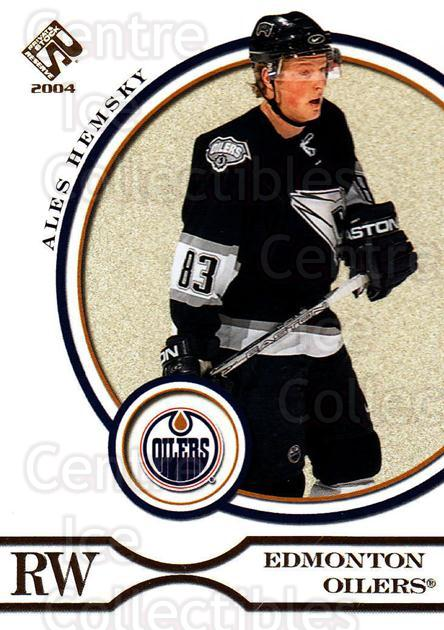 2003-04 Private Stock #36 Ales Hemsky<br/>2 In Stock - $1.00 each - <a href=https://centericecollectibles.foxycart.com/cart?name=2003-04%20Private%20Stock%20%2336%20Ales%20Hemsky...&quantity_max=2&price=$1.00&code=368047 class=foxycart> Buy it now! </a>