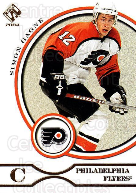 2003-04 Private Stock #75 Simon Gagne<br/>3 In Stock - $1.00 each - <a href=https://centericecollectibles.foxycart.com/cart?name=2003-04%20Private%20Stock%20%2375%20Simon%20Gagne...&quantity_max=3&price=$1.00&code=368090 class=foxycart> Buy it now! </a>