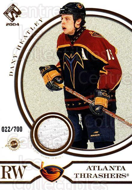 2003-04 Private Stock #142 Dany Heatley<br/>1 In Stock - $5.00 each - <a href=https://centericecollectibles.foxycart.com/cart?name=2003-04%20Private%20Stock%20%23142%20Dany%20Heatley...&quantity_max=1&price=$5.00&code=368156 class=foxycart> Buy it now! </a>