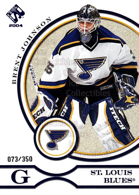 2003-04 Private Stock Blue #84 Brent Johnson<br/>5 In Stock - $3.00 each - <a href=https://centericecollectibles.foxycart.com/cart?name=2003-04%20Private%20Stock%20Blue%20%2384%20Brent%20Johnson...&quantity_max=5&price=$3.00&code=368443 class=foxycart> Buy it now! </a>