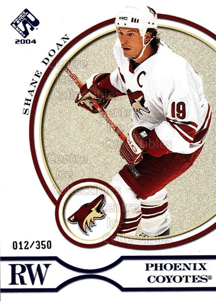 2003-04 Private Stock Blue #78 Shane Doan<br/>5 In Stock - $3.00 each - <a href=https://centericecollectibles.foxycart.com/cart?name=2003-04%20Private%20Stock%20Blue%20%2378%20Shane%20Doan...&quantity_max=5&price=$3.00&code=368516 class=foxycart> Buy it now! </a>