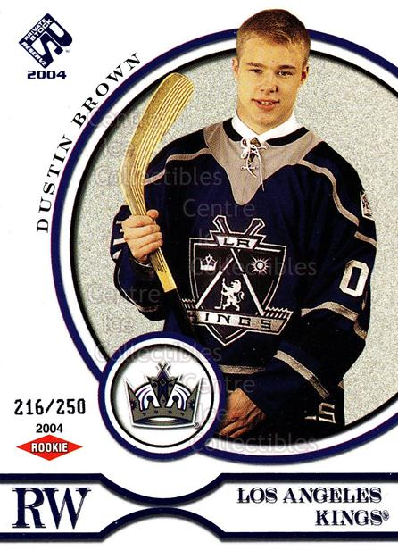 2003-04 Private Stock Blue #120 Dustin Brown<br/>2 In Stock - $5.00 each - <a href=https://centericecollectibles.foxycart.com/cart?name=2003-04%20Private%20Stock%20Blue%20%23120%20Dustin%20Brown...&quantity_max=2&price=$5.00&code=368558 class=foxycart> Buy it now! </a>