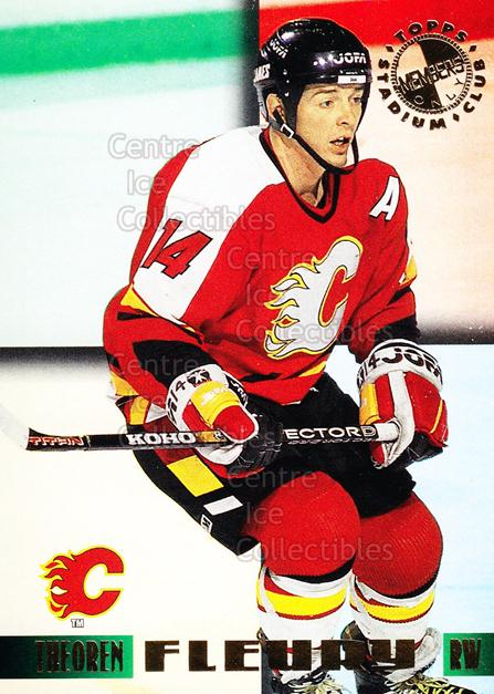 1995 Stadium Club Members Only #33 Theo Fleury<br/>8 In Stock - $2.00 each - <a href=https://centericecollectibles.foxycart.com/cart?name=1995%20Stadium%20Club%20Members%20Only%20%2333%20Theo%20Fleury...&quantity_max=8&price=$2.00&code=36864 class=foxycart> Buy it now! </a>