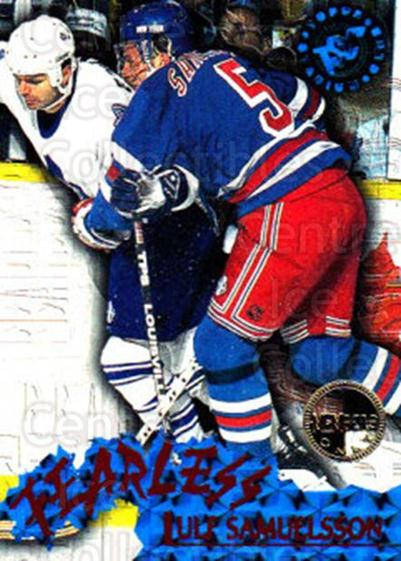 1995-96 Stadium Club Fearless Members Only #7 Ulf Samuelsson<br/>5 In Stock - $3.00 each - <a href=https://centericecollectibles.foxycart.com/cart?name=1995-96%20Stadium%20Club%20Fearless%20Members%20Only%20%237%20Ulf%20Samuelsson...&quantity_max=5&price=$3.00&code=36890 class=foxycart> Buy it now! </a>
