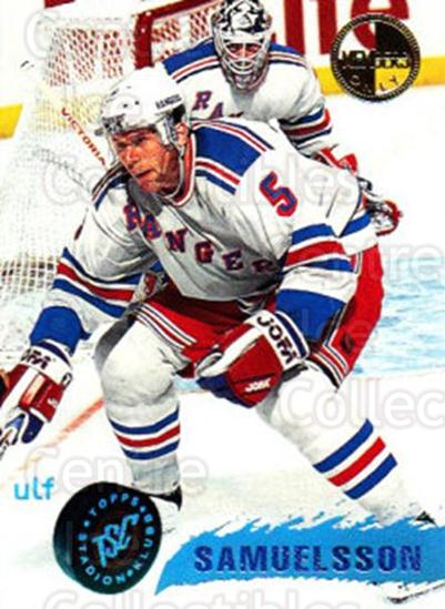 1995-96 Stadium Club Members Only #11 Ulf Samuelsson<br/>6 In Stock - $3.00 each - <a href=https://centericecollectibles.foxycart.com/cart?name=1995-96%20Stadium%20Club%20Members%20Only%20%2311%20Ulf%20Samuelsson...&quantity_max=6&price=$3.00&code=36905 class=foxycart> Buy it now! </a>