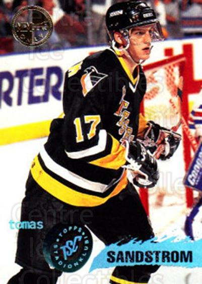 1995-96 Stadium Club Members Only #118 Tomas Sandstrom<br/>6 In Stock - $3.00 each - <a href=https://centericecollectibles.foxycart.com/cart?name=1995-96%20Stadium%20Club%20Members%20Only%20%23118%20Tomas%20Sandstrom...&quantity_max=6&price=$3.00&code=36914 class=foxycart> Buy it now! </a>