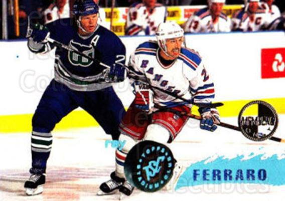 1995-96 Stadium Club Members Only #120 Ray Ferraro<br/>6 In Stock - $3.00 each - <a href=https://centericecollectibles.foxycart.com/cart?name=1995-96%20Stadium%20Club%20Members%20Only%20%23120%20Ray%20Ferraro...&quantity_max=6&price=$3.00&code=36916 class=foxycart> Buy it now! </a>