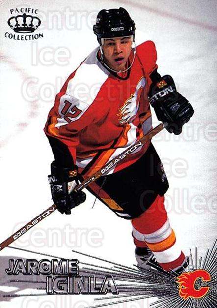 1997-98 Pacific Silver #12 Jarome Iginla<br/>1 In Stock - $2.00 each - <a href=https://centericecollectibles.foxycart.com/cart?name=1997-98%20Pacific%20Silver%20%2312%20Jarome%20Iginla...&quantity_max=1&price=$2.00&code=369371 class=foxycart> Buy it now! </a>